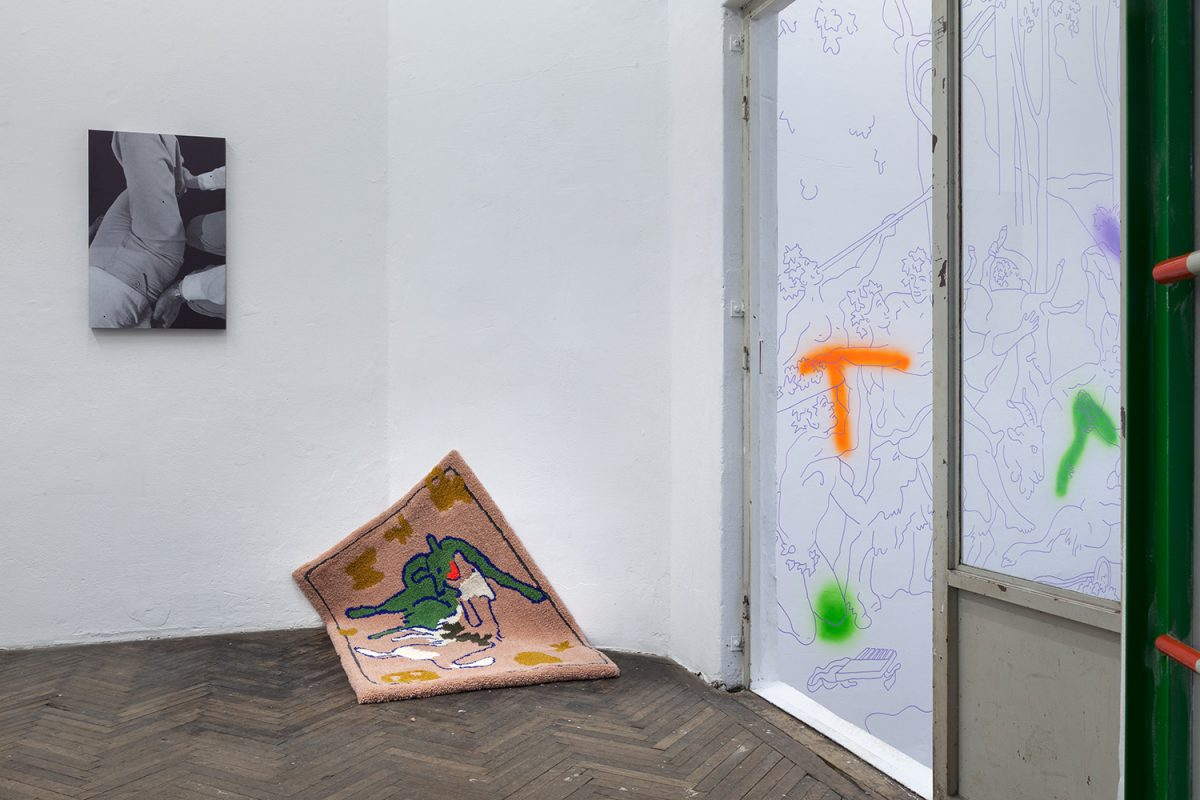 I am untamed - I need a leash, exhibition view, 2019