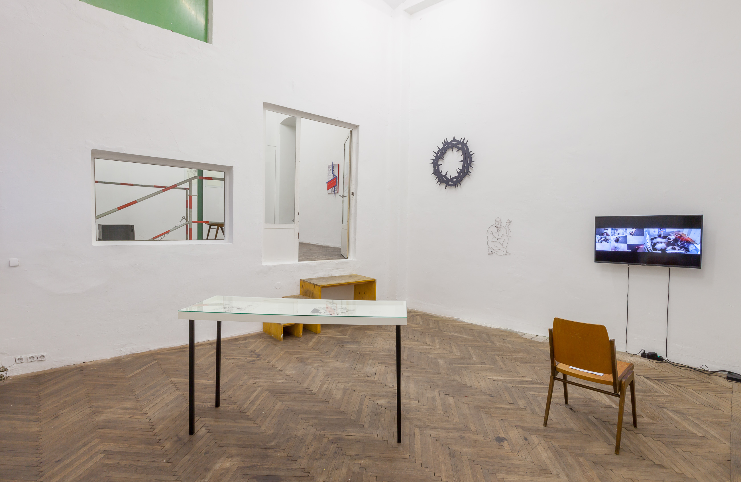 The will to change, exhibiton view, 2020