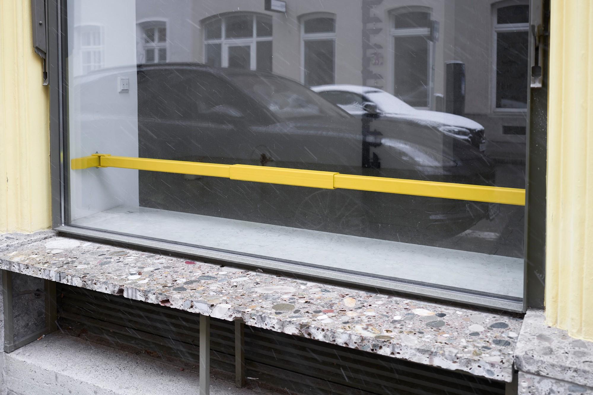 Rachel Fäth, Clamps, corner piece, 2020